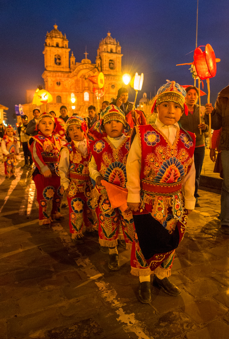 Cusco celebration