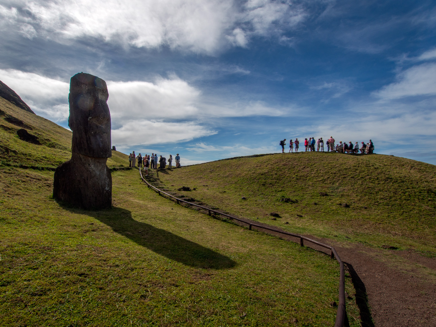 "The ""quarry"" on Easter Island"